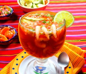 Tierra Brava Hot Sauce Cocktail